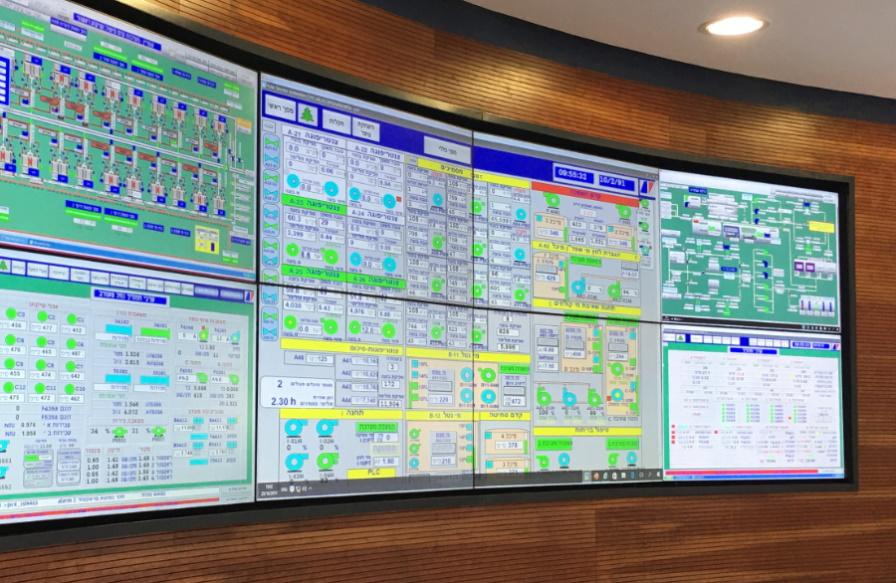 Conttrol Unit Screens